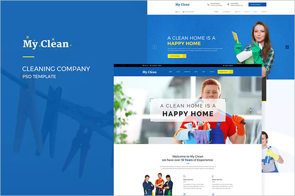 Cleaning Company Product Brochure