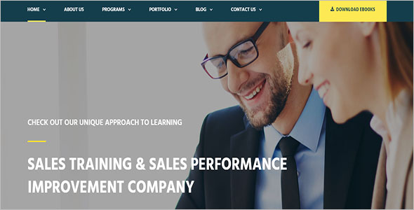Consulting HTML Template
