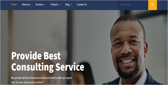 Corporate Training HTML Template