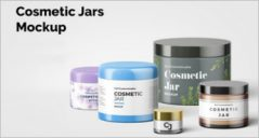34+ Best Cosmetic Jar Mockup