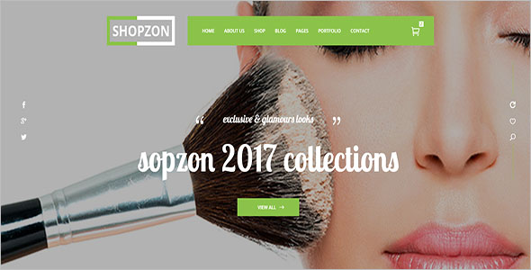 Cosmetics Store eCommerce Template