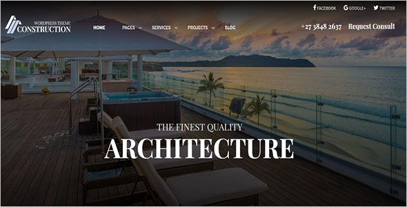 Creative Architecture Construction Them