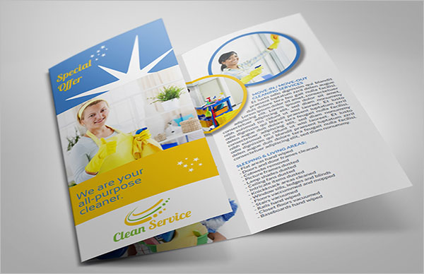 Creative Cleaning Company Brochure