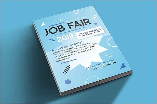 Creative Job Fair Flyer Templates