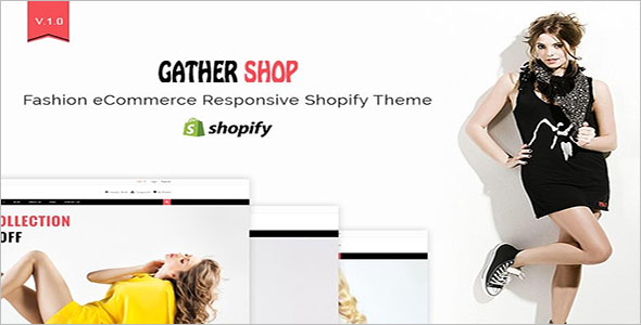 Custom Shopify Website Template