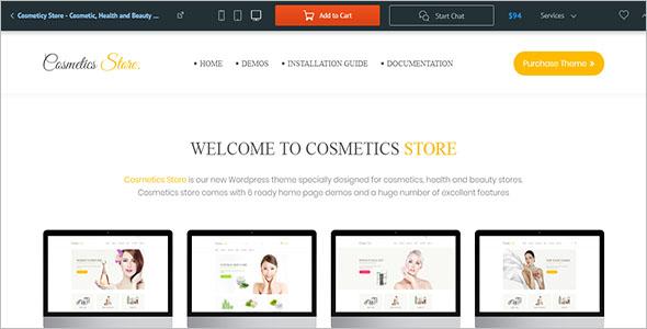 Customizable Beauty WooCommerce Theme