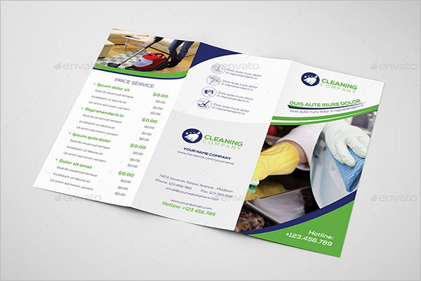 Customizable Cleaning Company Brochure