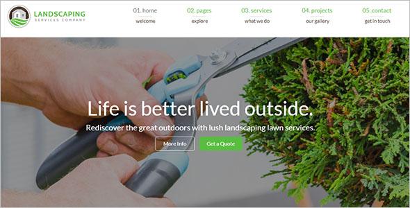 Customizable Lawn WordPress Theme