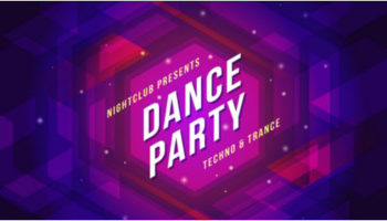 Dance Party Poster Templates