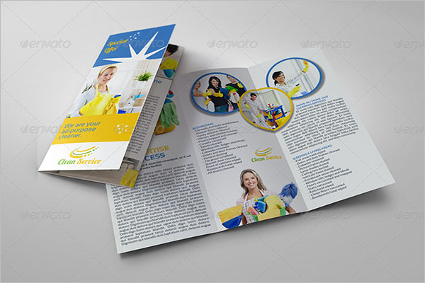 Design Cleaning Company Brochure