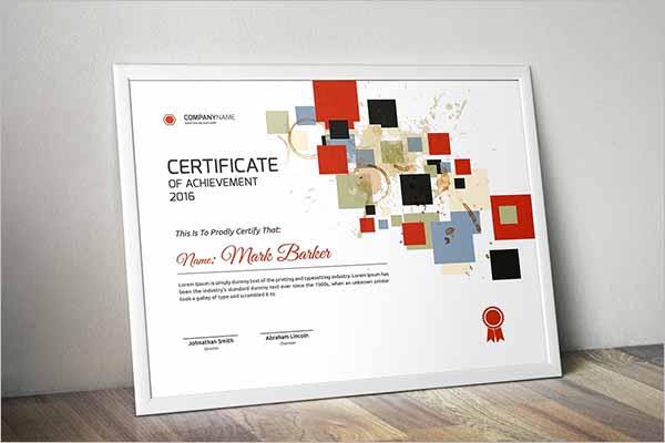 DiplomaCertificate Design Template