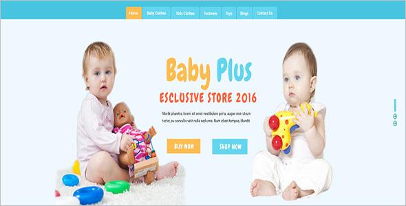 E-Commerce Kid Fashion Store Theme