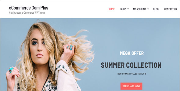 E-Commerce WordPress Shopify Theme