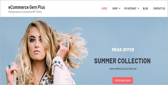 E-Commerce WordPress Shopify Theme