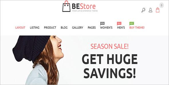 Ecommerce Fashion Shopify Theme