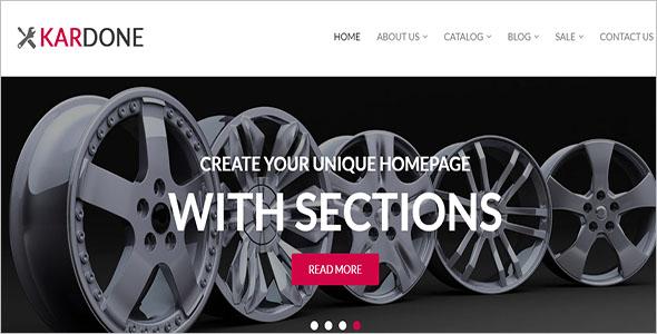 Editable Shopify ecommerce Theme