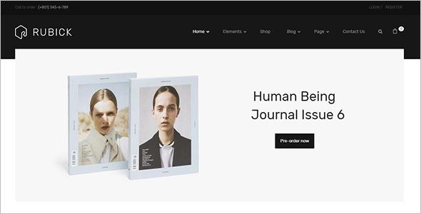 Editable WooCommerce WordPress Theme