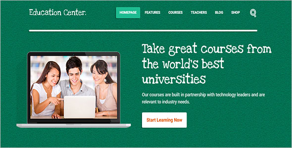 Education Center HTML Theme