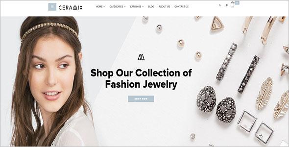 Elegant Shopify Website Theme