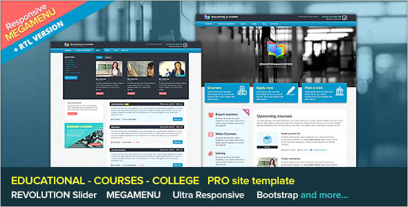 Engineering College Website Template