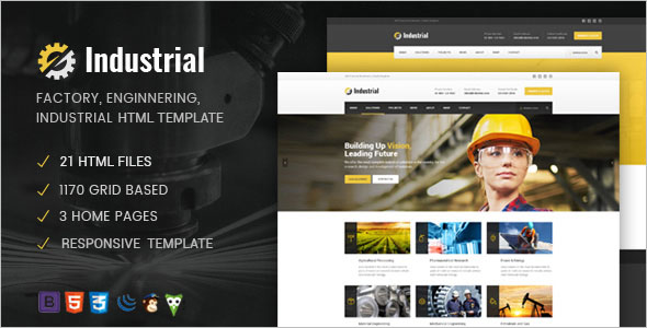Engineering Services HTML Template