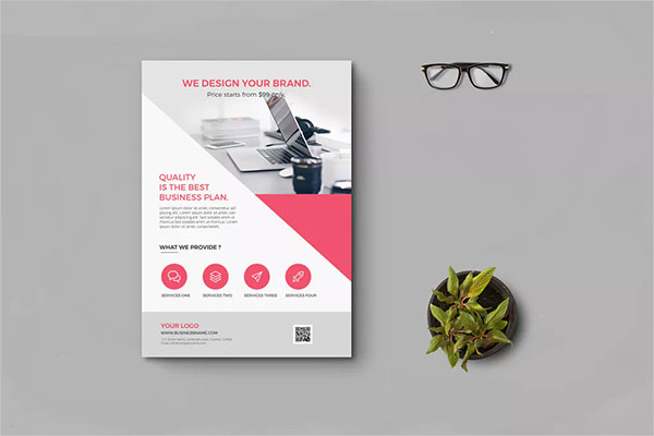 Example Business Flyer Template