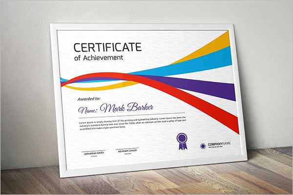 ExcellenceCertificate Design