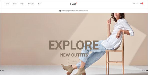 Fashion Clothing Store WordPress Theme