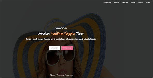 Fashion eCommerce WordPress Theme