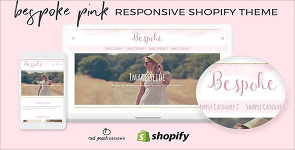 Feminine Shopify Website Theme
