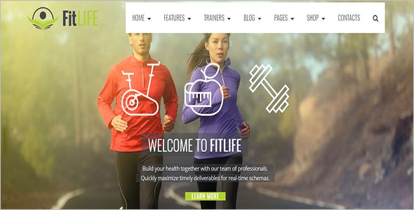 Fit Life Professional HTML Template