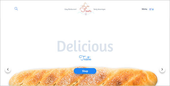 Food Menus WooCommerce Theme