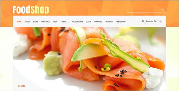 Food Shop WooCommerce Theme