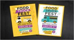 30+ Food Truck Flyers