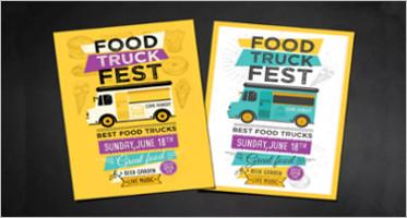 Food Truck Flyers