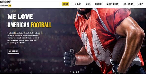 Football & News WordPress Theme