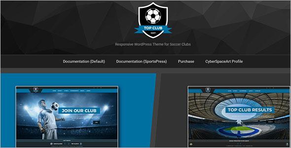 Football Sport WordPress Theme