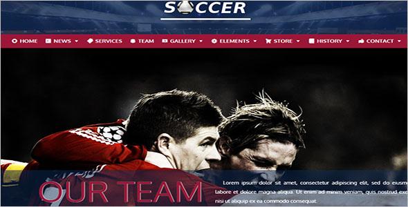 Football WordPress Theme Free download