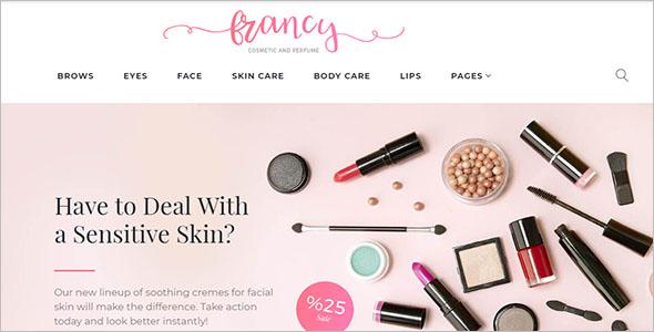 Francy WooCommerce Beauty Theme