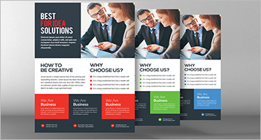 32 free business flyer templates psd creative template wajeb Gallery