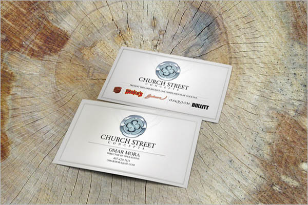 Free Church Business Card Template