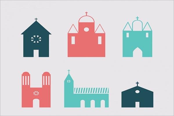 Free Church Icons