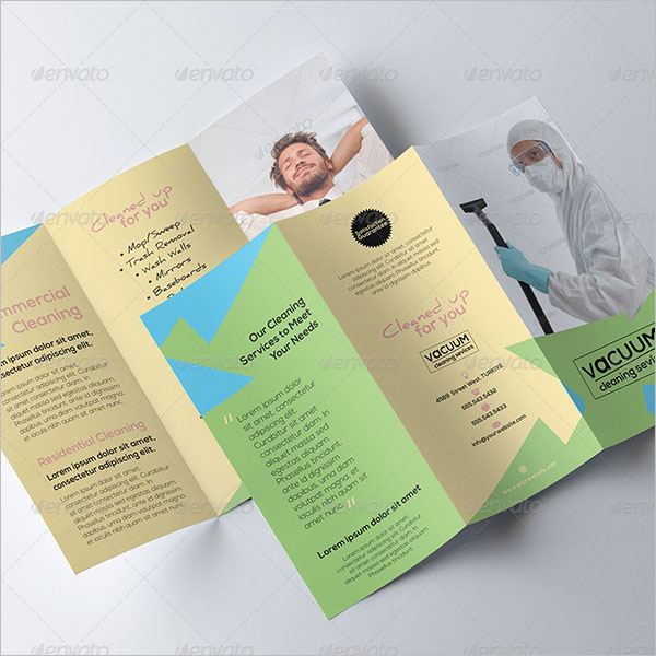 Free Cleaning Company Brochure