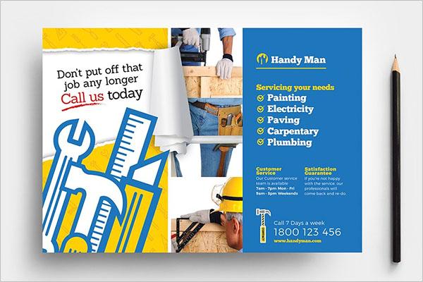 Free Handyman Template