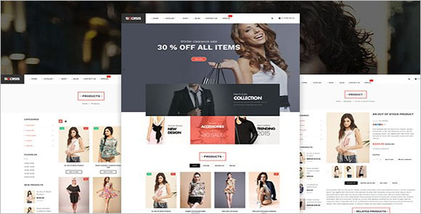 Fully Responsive Shopify Website Theme