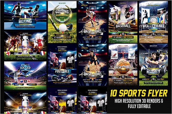 Game Sport Schedule Poster