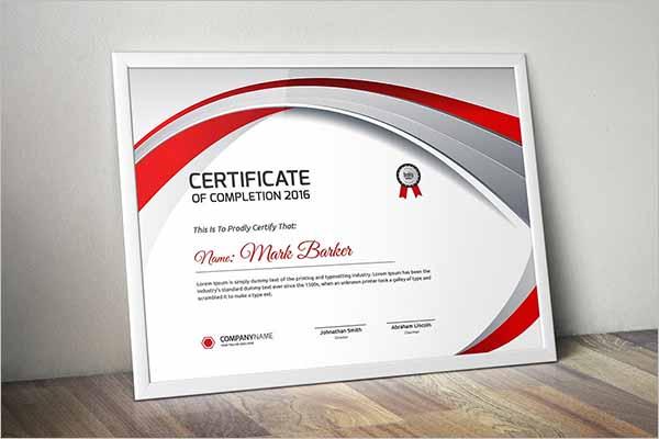 GraduationCertificate Template