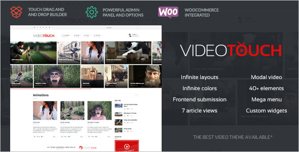 Graphic Video WordPress Theme