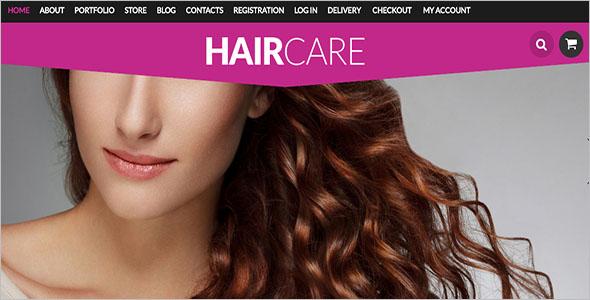 Hair Styling WooCommerce Theme