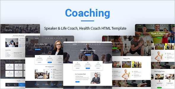 Health Coach HTML Template